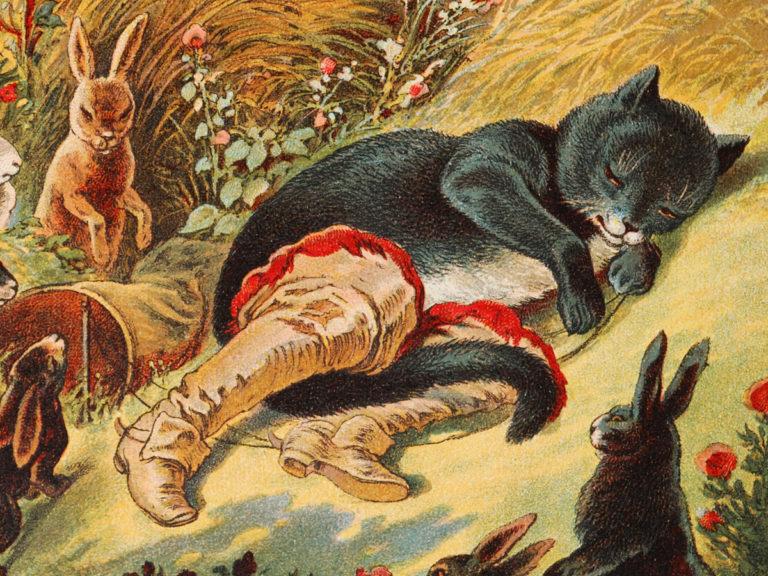 Le Chat botté:  futé mais sans moralité