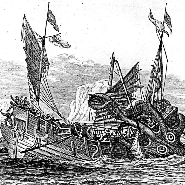Le Kraken, entre récits et légendes