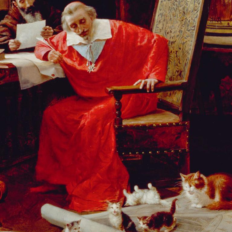 Le Cardinal de Richelieu : amoureux de ses chats